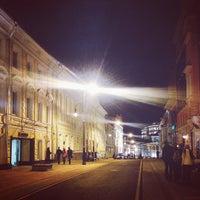 Photo taken at Bolshaya Dmitrovka Street by Olga S. on 10/20/2013