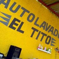 Photo taken at autolavado El Tito by Hermes S. on 12/29/2012