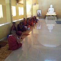 Photo taken at Wajirarama Aranya Temple by Kanishka W. on 7/3/2014