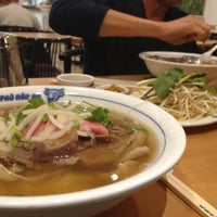 Photo taken at Pho Dau Bo Restaurant by Chris T. on 11/5/2012