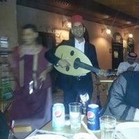 Photo taken at Khan Farouk Tarab Cafe by iHamdah ˚. on 2/7/2013