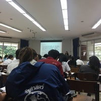 Photo taken at Humanities Building 6 (HB6) by เพชรตา on 8/9/2017
