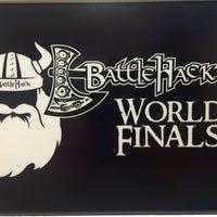 Photo taken at BattleHack World Final by Orkn S. on 11/15/2014