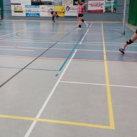 Photo taken at Sporthal Poperinge by Gregory D. on 4/13/2018