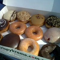 Photo taken at Krispy Kreme by Lixx A. on 4/10/2013
