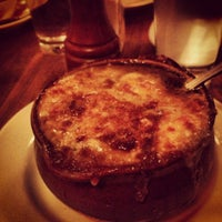 Photo taken at La Bonne Soupe by Kristin L. on 12/2/2012