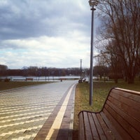 Photo taken at Victory Park by Dasha L. on 4/8/2012