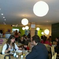 Photo taken at SanaQueSana Gourmet by Tuyo I. on 5/29/2012