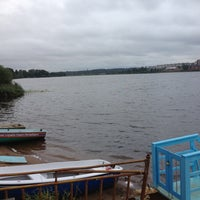 Photo taken at Воднолыжный клуб «Озерки» by Ksenia on 8/16/2012