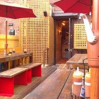 Photo taken at Butcher Bar by Jenny L. on 9/2/2012