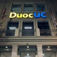 5/8/2013 tarihinde Cristian S.ziyaretçi tarafından Duoc UC'de çekilen fotoğraf