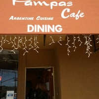 Photo taken at Pampas Cafe by MAYO C. on 10/10/2012