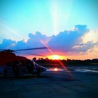 Photo taken at Chevron Hangar by @pu_daralome i. on 9/19/2012