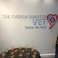 Photo taken at French Quarter Vet by Nicole L. on 4/29/2018