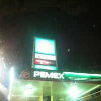Photo taken at PEMEX by Guillermo R. on 1/15/2013