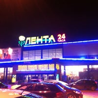 Photo taken at Лента by Maxim K. on 3/2/2013