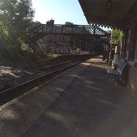 Photo taken at Wadhurst Railway Station (WAD) by @brownpf on 8/13/2014
