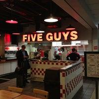 Photo taken at Five Guys by Dennis J. on 1/16/2013