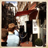 Photo taken at Vlaams Friteshuis Vleminckx by Taher ˙. on 5/9/2013
