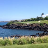 Photo taken at Mauna Kea Golf Course by Jeff B. on 6/13/2014