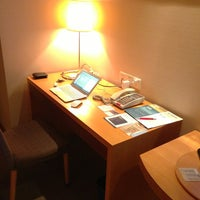 Photo taken at Four Points by Sheraton Shenzhen by Dow W. on 1/10/2013
