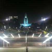 Photo taken at Grand Park by Ariz Danger G. on 11/3/2012