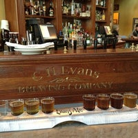 Photo taken at C.H. Evans Brewing Co. at the Albany Pump Station by Christian S. on 2/18/2013