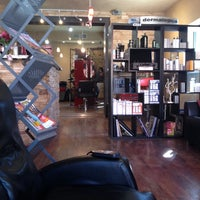 Photo taken at Hair Fusion by Linnea B. on 3/11/2014