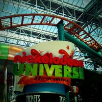 Photo taken at Nickelodeon Universe® by Sanputt S. on 9/30/2012