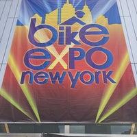 Photo taken at Bike Expo New York- Pier 36 by Chris K. on 5/2/2014