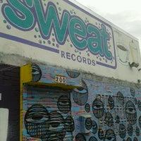 Photo taken at Sweat Records by Karen O. on 7/27/2013