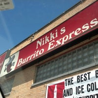 Photo taken at Nikki's Burrito Express by CaLzOnE on 9/19/2012