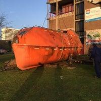 Photo taken at De Spits Internaat by Maarten D. on 12/15/2015