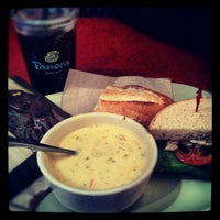 Photo taken at Panera Bread by Emily S. on 11/21/2012