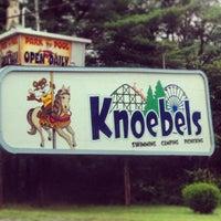 Photo taken at Knoebels Amusement Resort by Katie K. on 7/3/2013