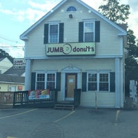 Photo taken at Jumbo Donuts by Candice D. on 8/9/2014