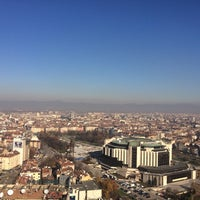 Photo taken at The View Restaurant Sofia by Julia T. on 11/23/2017