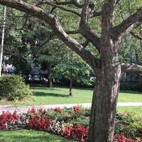 Photo taken at Osgoode Hall Park by Sam S. on 8/27/2017