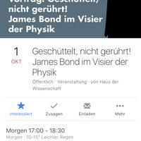 Photo taken at Haus der Wissenschaft | TU BS by Karsten M. on 10/1/2016