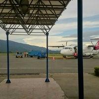 Photo taken at Aeropuerto Perales (IBE) by Daniel on 11/8/2015