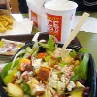 Photo taken at Wendy's by Roland H. on 12/20/2012