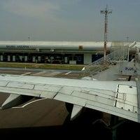 Photo taken at Aeroporto de Bauru - Arealva / Moussa Nakhl Tobias (JTC) by Raphael C. on 10/26/2012