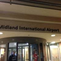 Photo taken at Midland International Airport (MAF) by Tracey . on 1/7/2013