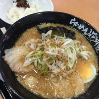 Photo taken at らあめん 花月 嵐 by havetell on 12/20/2015