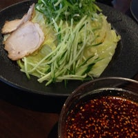 Photo taken at つけ麺本舗 辛部 五日市店 by havetell on 4/10/2014
