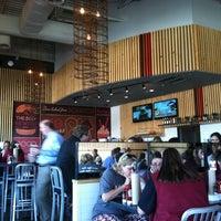 Photo taken at Grub Burger Bar by Crystal K. on 10/28/2012