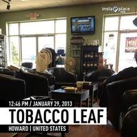Photo taken at Tobacco Leaf by DaByrdman33 on 1/29/2013