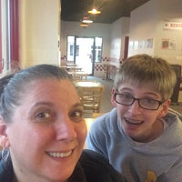 Photo taken at Five Guys by Ruth M. on 3/31/2015