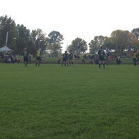 Photo taken at University Of Illinois Soccer Fields by Susie H. on 10/12/2013