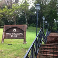 Photo taken at Fort Canning Park by Jo Ann on 1/10/2013